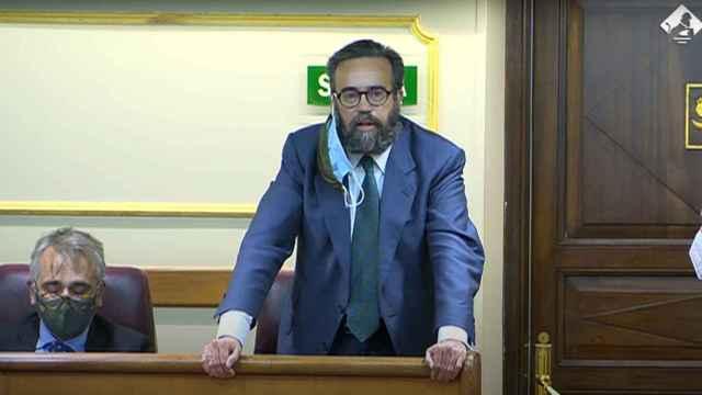 José Maaría Sánchez fue expulsado del Congreso al no retractarse de llamar bruja a una compañera del PSOE.