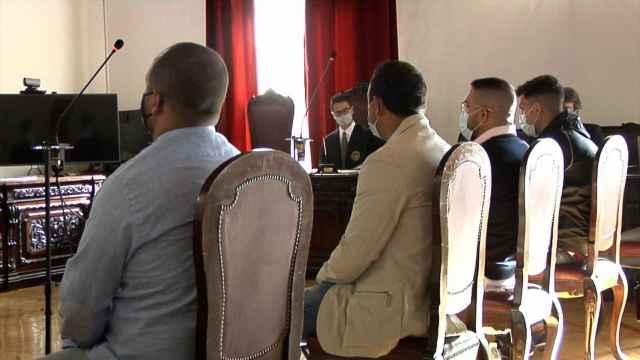 Juicio a los cuatro acusados del delito de secuestro en Santa Olalla (Toledo). Foto: Europa Press