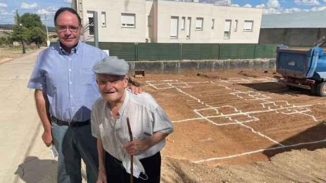 Benjamín Prieto y José Moral