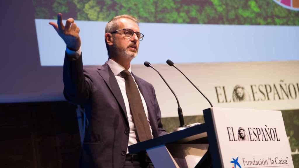 Marc Murtra durante su intervención en el foro de ENCLAVE ODS.