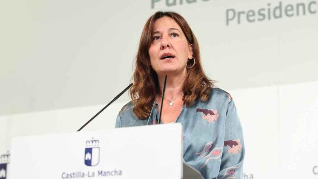 Blanca Fernández, portavoz del Gobierno de Castilla-La Mancha.