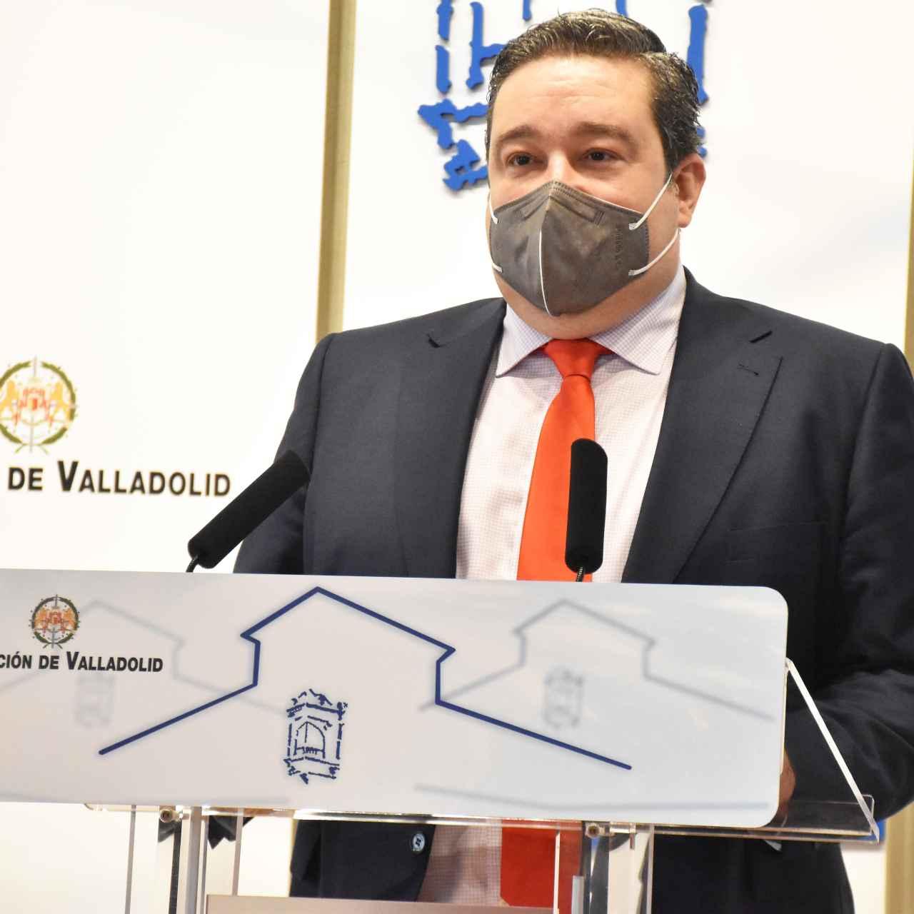 José Ignacio Fernández, alcalde de Cigales