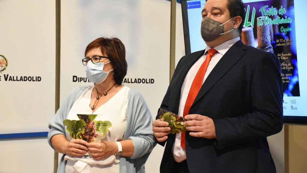 Marta Barrigón junto a José Ignacio Fernández