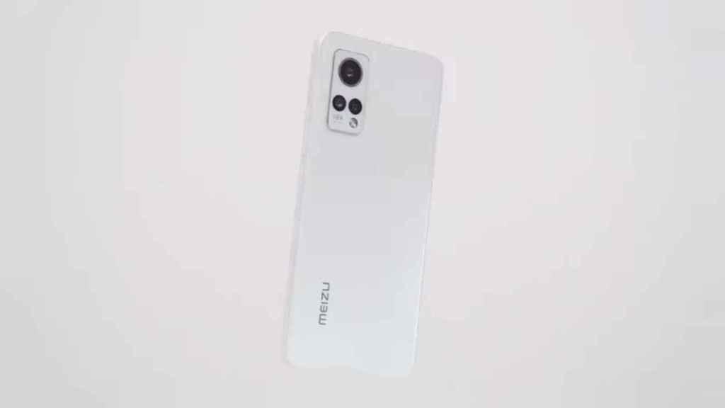 Meizu 18X en blanco