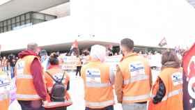 Manifestación del transporte sanitario