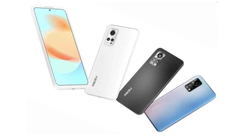 Colores en los que estarán disponibles los Meizu 18X