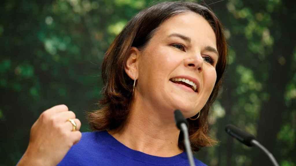 La candidata de los Verdes, Annalena Baerbock
