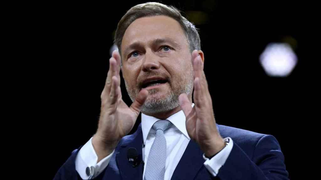 El candidato liberal, Christian Lindner