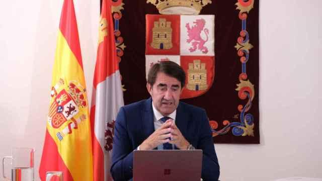 Súarez Quiñones en la reunión telemática