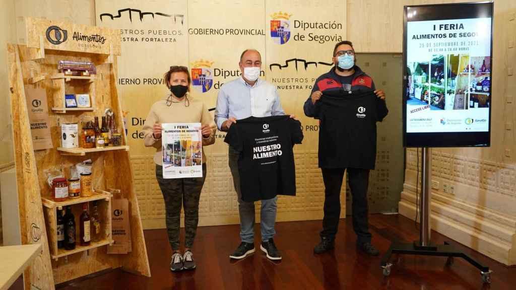 15 expositores participarán en la feria de 'Alimentos de Segovia'