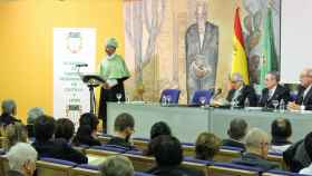 Sesión de la Academia de Ciencias Veterinarias en el Paraninfo Gordón Ordás de la ULE