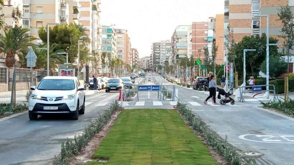 Apertura de la avenida.