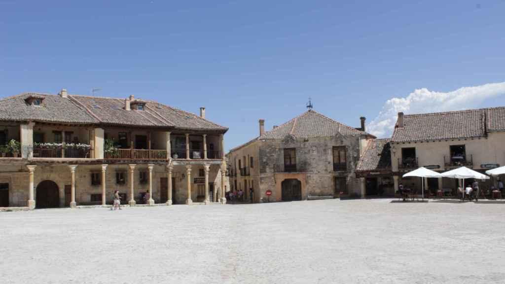 Plaza de la localidad segoviana de Pedraza