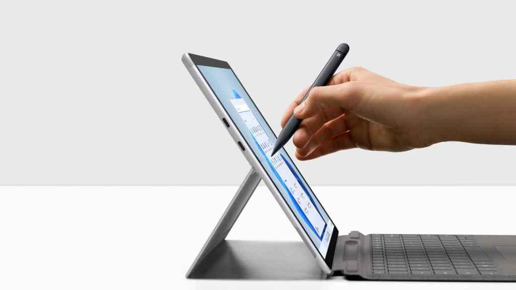 Surface Pro 8 con el Slim Pen 2.