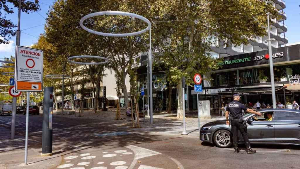 La Avenida Mediterráneo de Benidorm, en imagen de archivo.