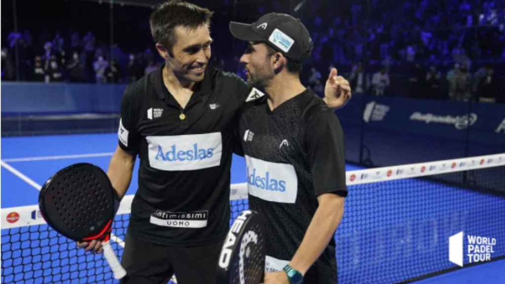 Sanyo Gutiérrez y Fernando Belasteguín