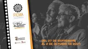 Cartel del Festival de Cortos sobre Personas Mayores de Salamanca