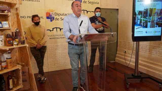Miguel Ángel de Vicente durante la presentación de la feria