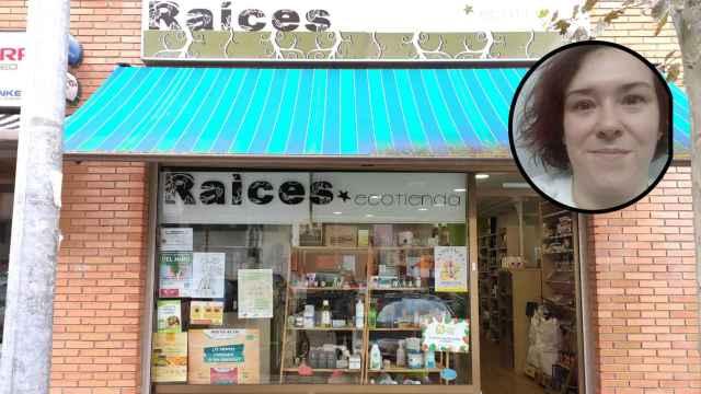 Maite y su negocio en el barrio de Parquesol