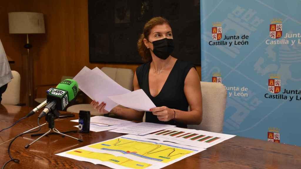 La delegada territorial de la Junta en Zamora, Clara San Damián