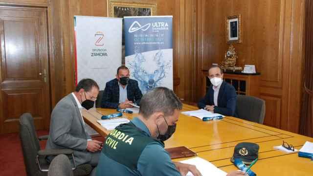 Reunión de coordinación de la Ultrasanabria 2021