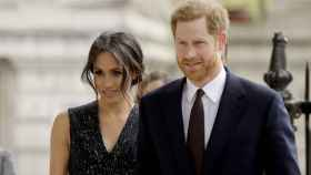 Meghan Markle y el príncipe Harry en una imagen de archivo.