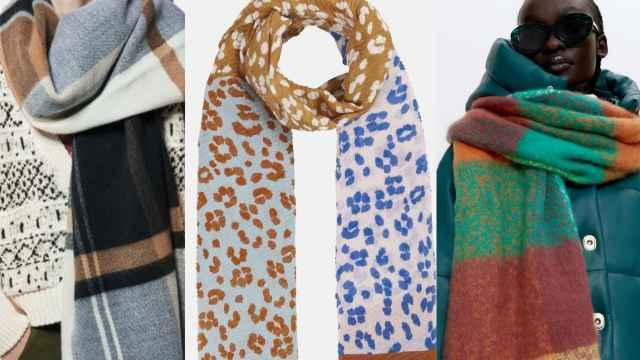 Ocho bufandas y fulares para afrontar la llegada del otoño e ir a la moda