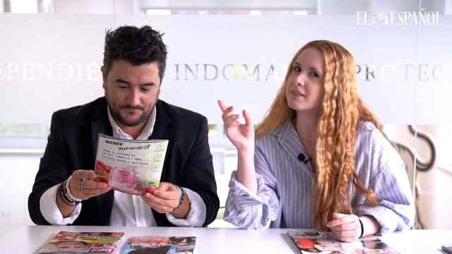 Jesús Carmona y Ane Olabarrieta en el kiosco rosa, en vídeo.