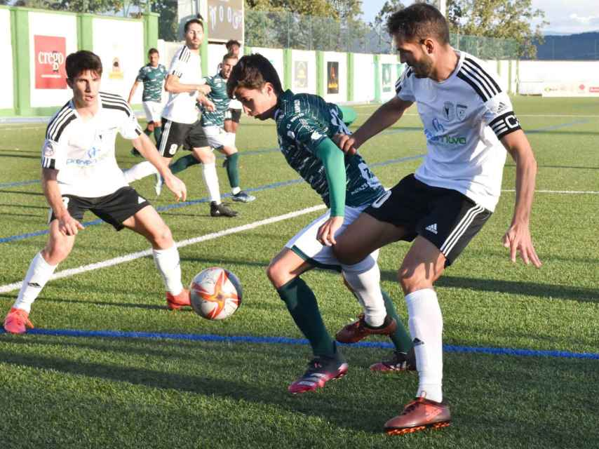Final de Castilla y León de la Copa RFEF entre el CD Guijuelo y el Burgos Promesas