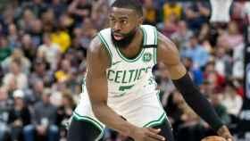 Jaylen Brown, con los Boston Celtics
