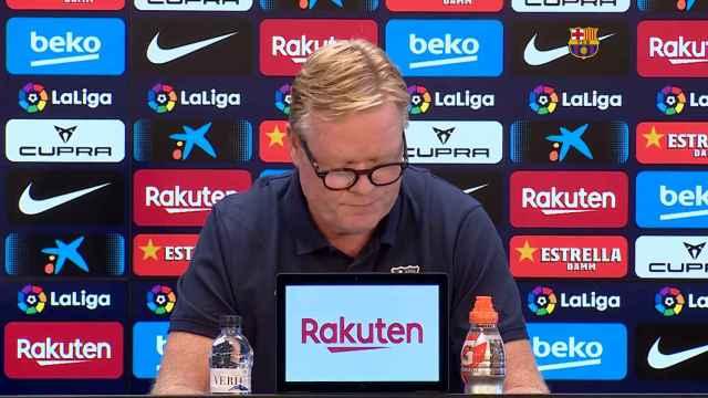 El comunicado de Koeman en plena crisis del FC Barcelona