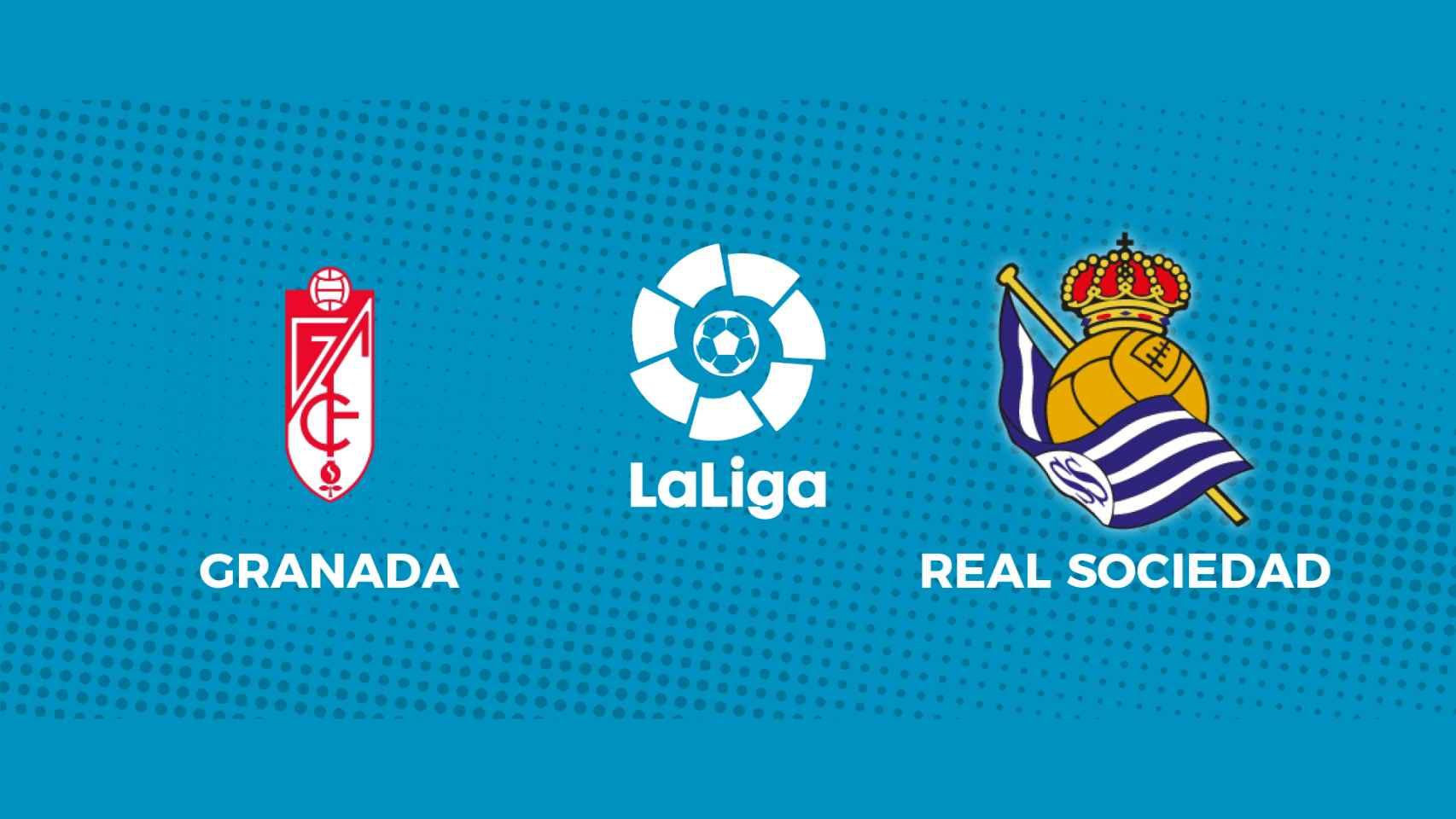Granada - Real Sociedad: siga en directo el partido de La Liga