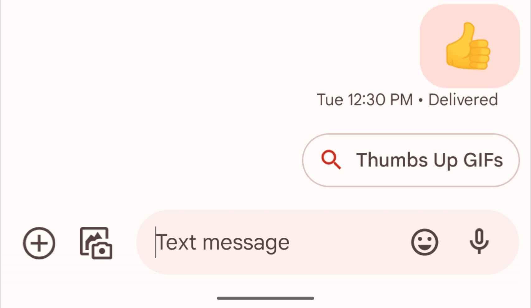 Nueva interfaz de Google Mensajes