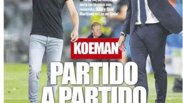Portada Mundo Deportivo (22/09/21)