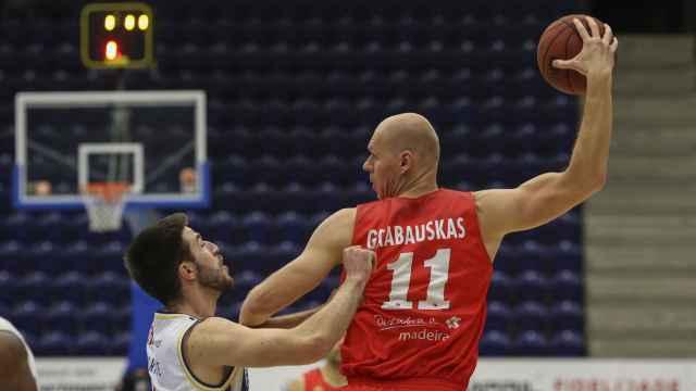 Robertas Grabauskas, nuevo fichaje del CB Almansa. Foto: cbalmansa.es