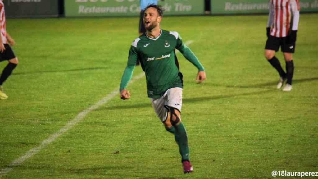 Rubén Moreno, jugador del Toledo. Foto: Twitter @rubenmoreno88