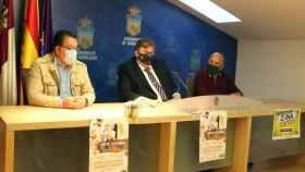 Presentación de la 'Semana del Comercio', a cargo del concejal de Turismo de Guadalajara, Fernando Parlorio