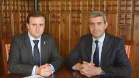 Luengo y Gutiérrez en una imagen de archivo.