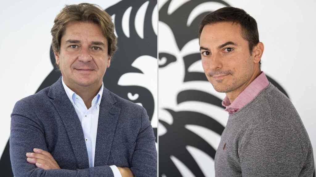 Javier Ayala (i) y Juan Lobato (d), candidatos a la secretaría general del PSOE de Madrid.