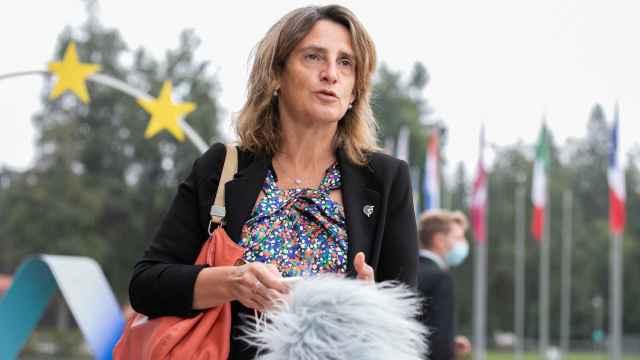 La vicepresidenta tercera, Teresa Ribera, durante la reunión informal en Eslovenia de ministros de Energía de la UE