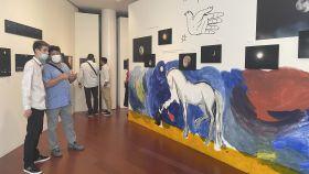 Una imagen de la exposición 'La luna en Málaga'.