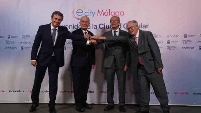 Rafael Sánchez Durán, Francisco de la Torre, Rogelio Velasco y Felipe Romera