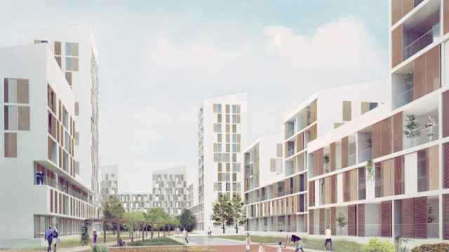 Diseño seleccionado para dar forma a uno de los edificios planteados en la primera fase de la Manzana Verde.