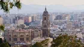 Imagen de archivo del Centro Histórico de Málaga.