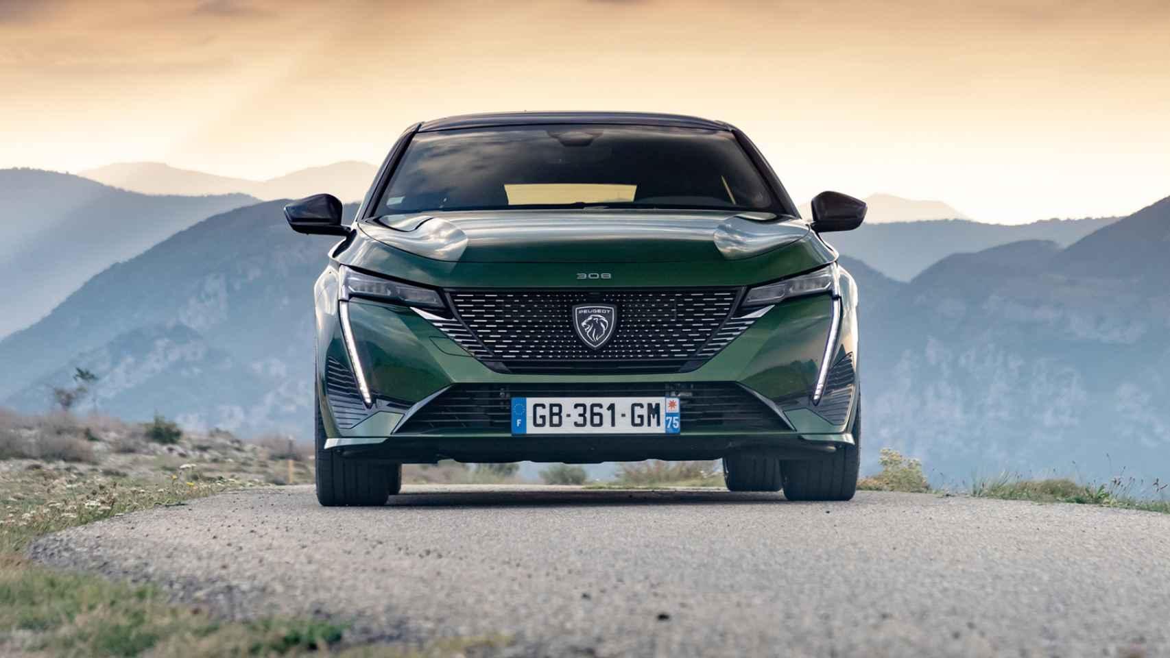 Galería de fotos del nuevo Peugeot 308: más diseño, tecnología y electrificado