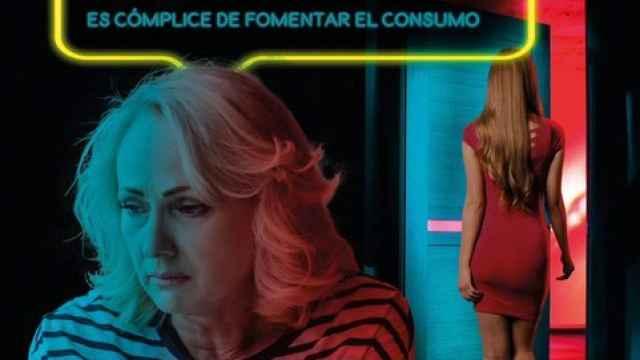 Cartel de la polémica campaña contra la prostitución del Ayuntamiento de Burgos.