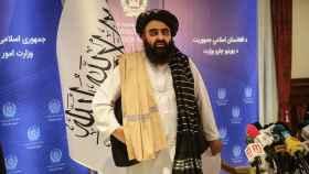 Mohammad Suhail Shahin, embajador de Afganistán ante la ONU.