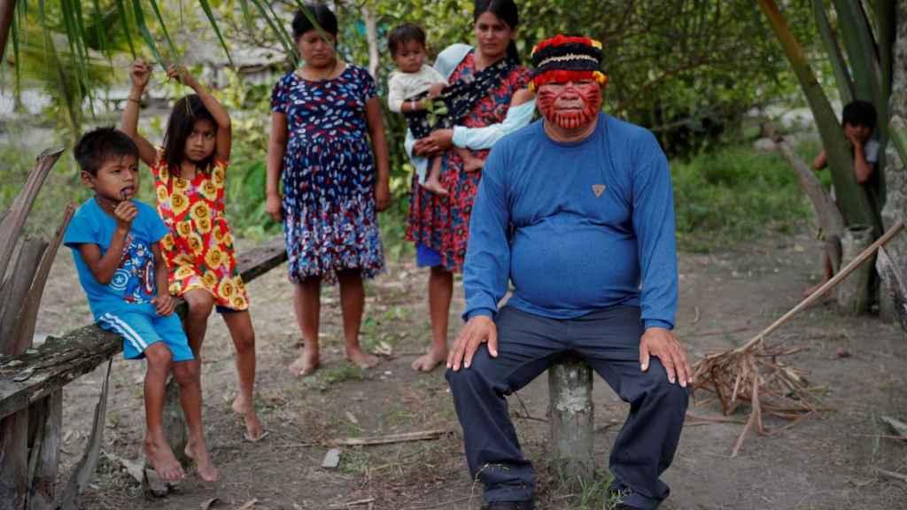 Guillermo Yumbatos, vicepresidente de la organización Kandozi del río Huitoyacu.