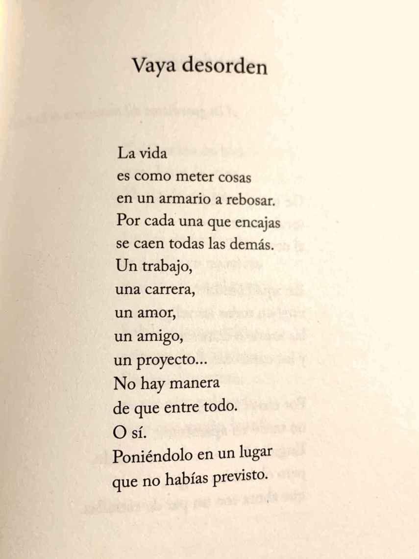 Vaya desorden, un poema de Daniel Ramírez.