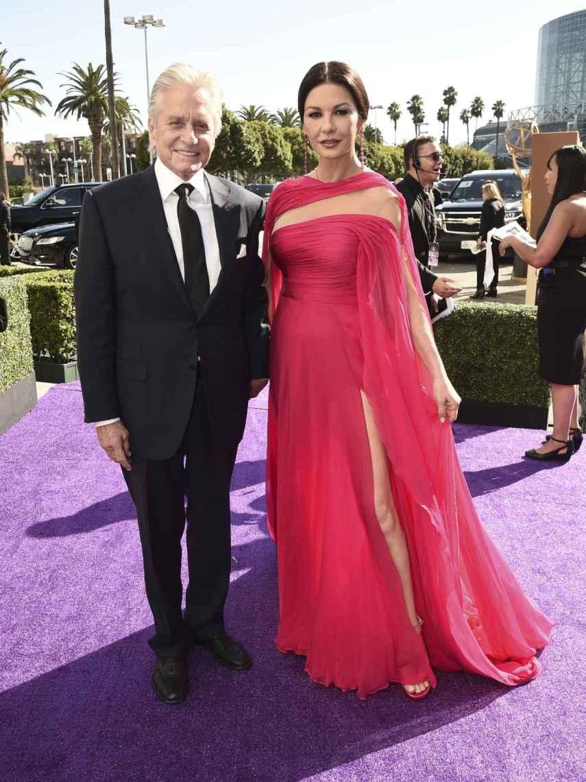 Michael Douglas y Catherine-Zeta Jones.